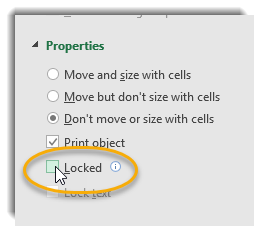 Box next to locked unchecked