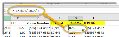 Excel, G2 Selected, formula bar circled