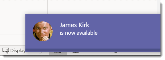 James Kirk is now available banner