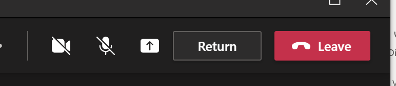 Return button added to attendees' breakout rooms